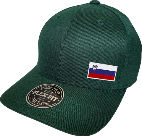 Slovenia Cap Flex Fit FLS Green