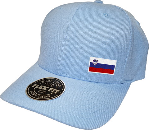 Slovenia Cap Flex Fit FLS Sky Blue