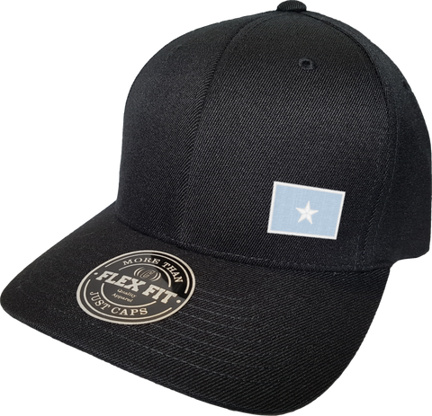 Somalia Cap Flex Fit FLS Black
