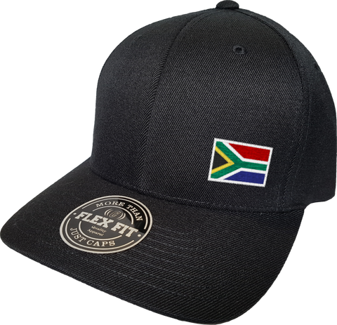 South Africa Cap Flex Fit FLS Black