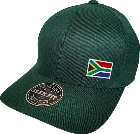 South Africa Cap Flex Fit FLS Green