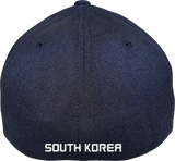 South Korea Cap Flex Fit FLS Navy Blue
