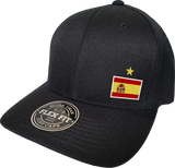 Spain Cap Flex Fit FLS Black