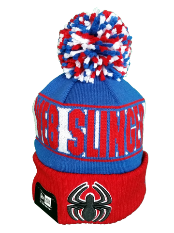 Pop Culture New Era Pom Toque Marvel Spiderman