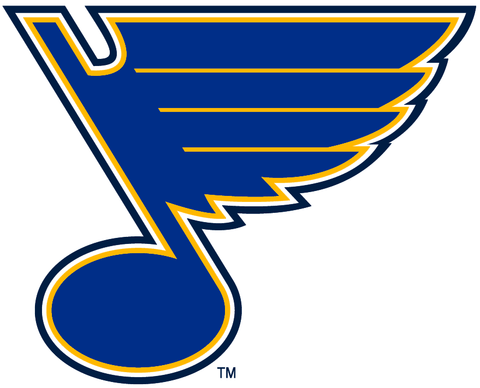 St. Louis Blues Jersey Numbering Pro Stitched 3 Layer