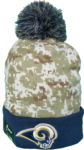 St. Louis Rams Salute to Service Sideline Fleece Pom Toque