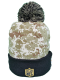 Pittsburgh Steelers Salute to Service Sideline Fleece Pom Toque