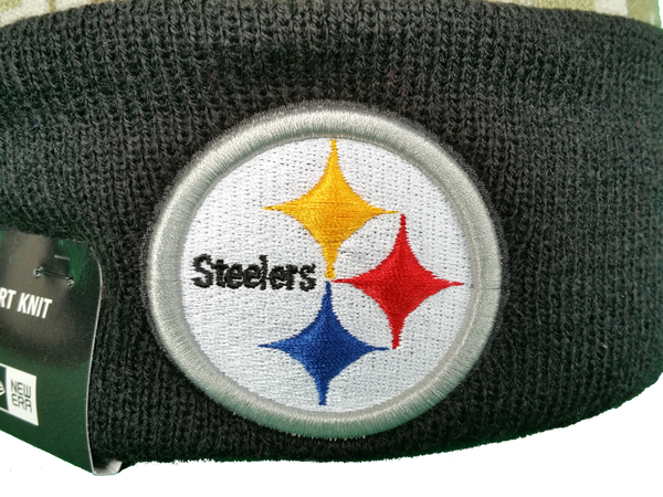 d82f2111 Pittsburgh Steelers Salute to Service Sideline Fleece Pom Toque