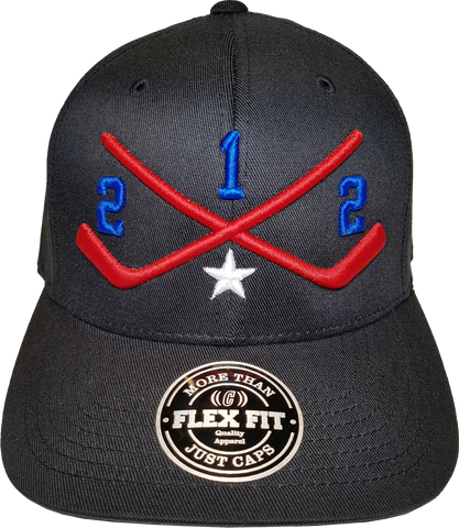 STICKS 212 Represent Flex Fit Black Multi