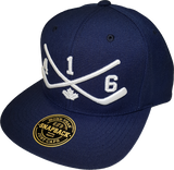 STICKS 416 Represent Snapback Navy Blue