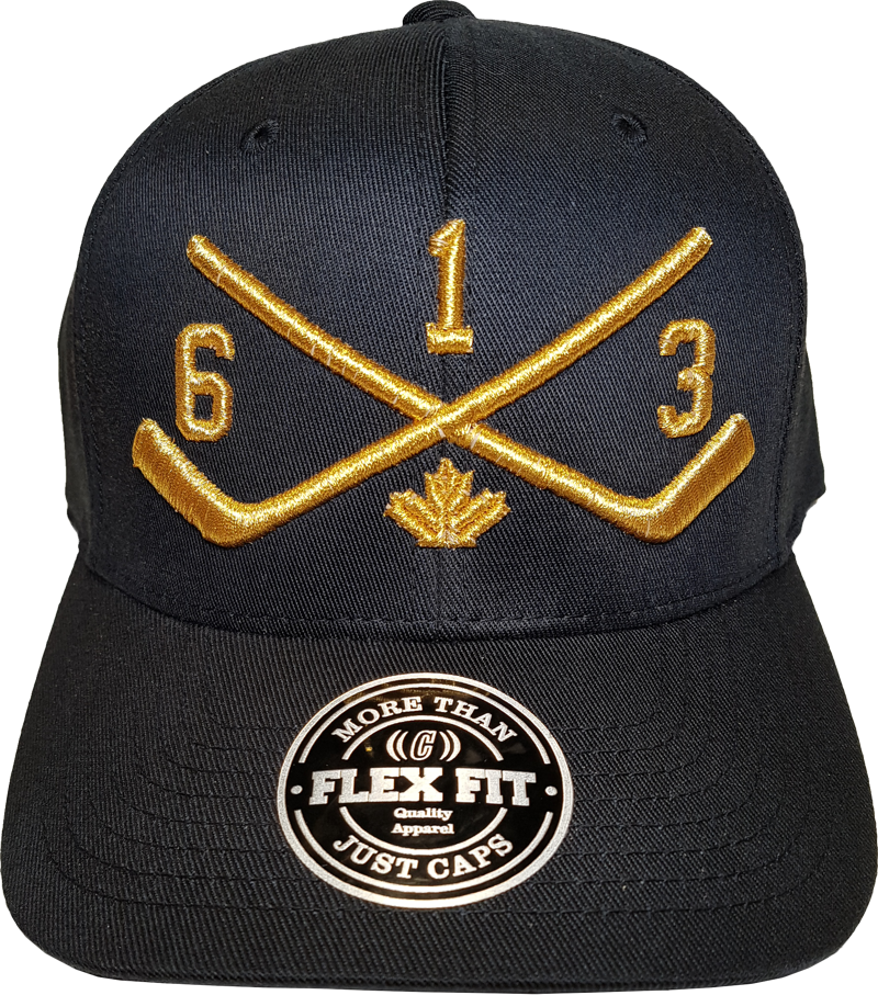 STICKS 613 Represent Flex Fit Black Metallic
