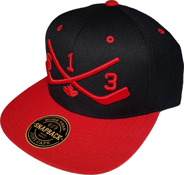 5c4f6ff63ca STICKS 613 Ottawa Snapback Black Red – More Than Just Caps Clubhouse