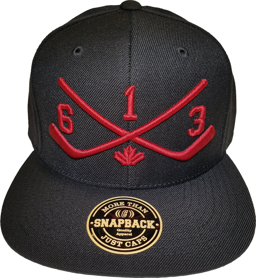 STICKS 613 Ottawa Snapback Black