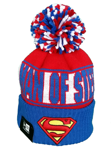 Pop Culture New Era Pom Toque DC Comics Superman