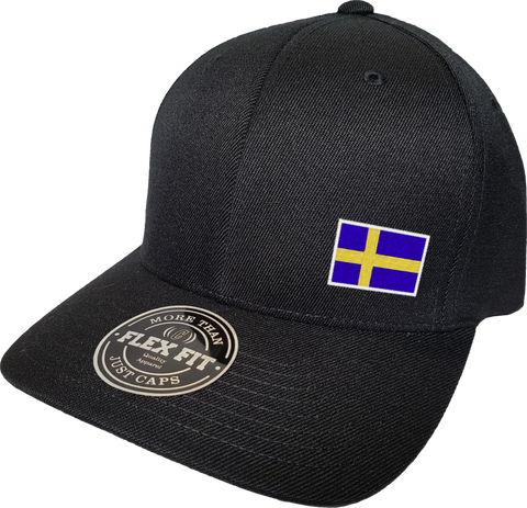 Sweden Cap Flex Fit FLS Black