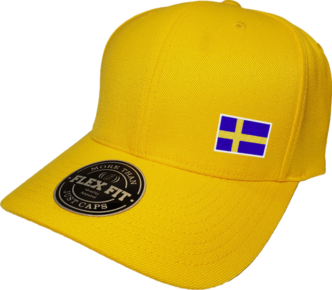 Sweden Cap Flex Fit FLS Gold