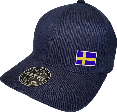 Sweden Cap Flex Fit FLS Navy