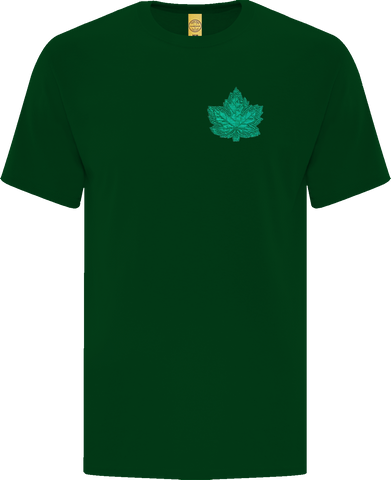 Canada Mighty Maple T-Shirt Dark Green Tonal