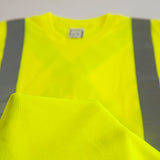 Custom Embroidered Hi-Vis Micro-Fibre Long Sleeve T-Shirt