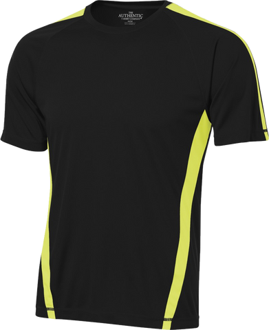 Performance Tech Jersey Black-Extreme Yellow