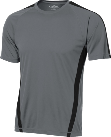 Performance Tech Jersey Charcoal-Black