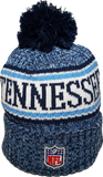 Tennessee Titans NFL 18 Sideline Pom Toque