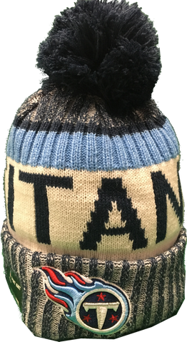 Tennessee Titans NFL 17 Sideline Pom Toque