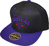 The Capital Represent 613 Exclusive Snapback Black-Purple