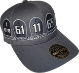 The Graveyard MelnykOut Adjustable Cap Charcoal