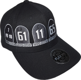 The Graveyard MelnykOut Flex Fit Cap Black