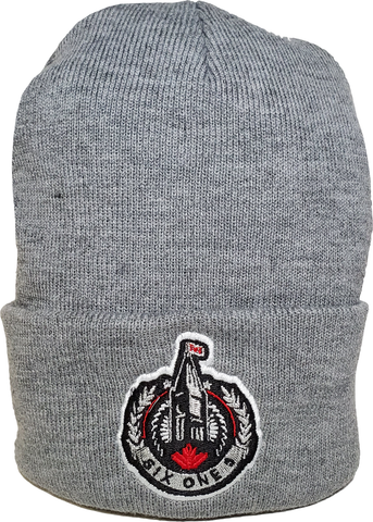 The Hill Ottawa Basic Beanie Toque Grey