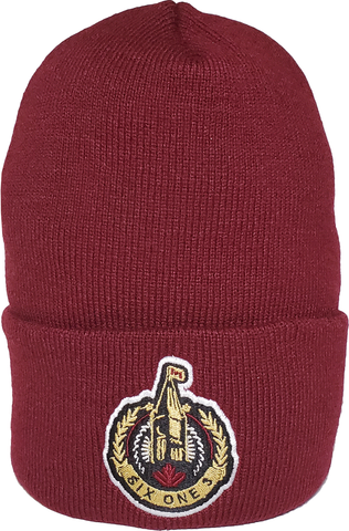 The Hill Ottawa Basic Beanie Toque Maroon