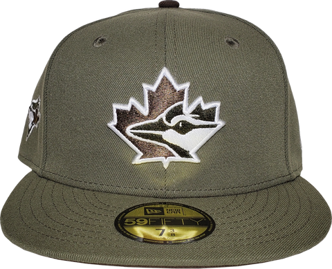 Toronto Blue Jays New Era 59Fifty Exclusive New Olive