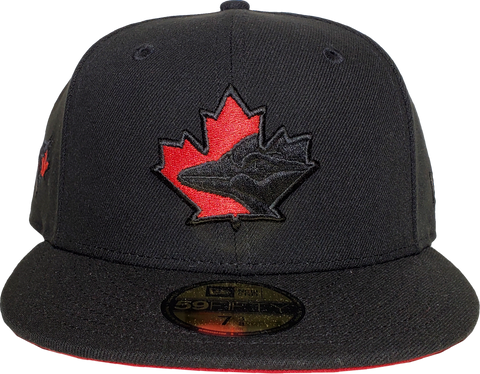 Toronto Blue Jays New Era 59Fifty Exclusive Blackout Pop
