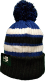 Toronto Blue Jays Black & Blue Knit Pom Toque