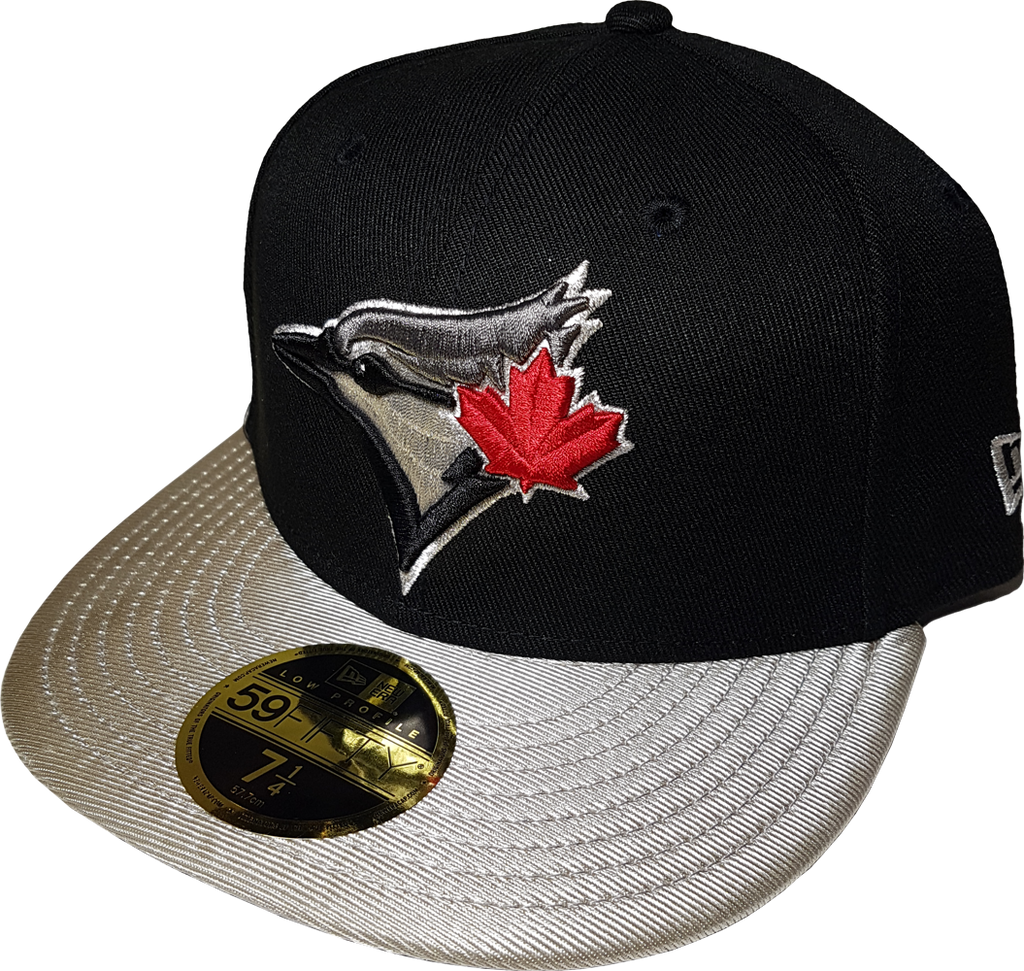 Toronto Blue Jays Fitted Custom Exclusive Low Profile Black and Metall –  More Than Just Caps Clubhouse 4e2590b229d9