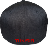 Tunisia Cap Flex Fit FLS Black