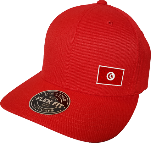 Tunisia Cap Flex Fit FLS Red