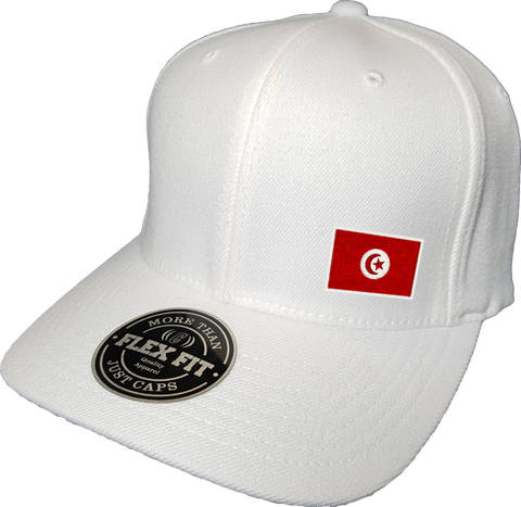 Tunisia Cap Flex Fit FLS White