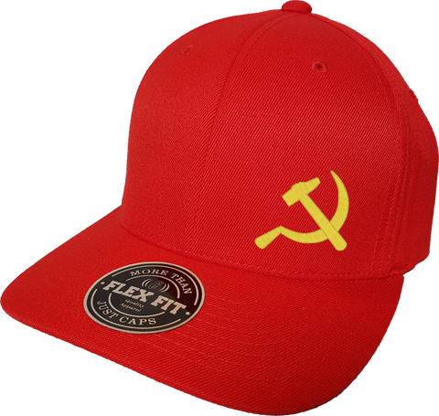 USSR Cap Flex Fit FLS Red