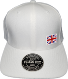 United Kingdom Cap Flex Fit FLS White