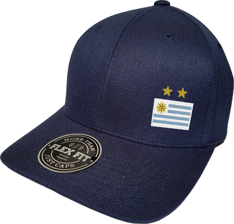Uruguay Cap Flex Fit FLS Navy Blue