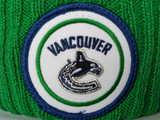 Vancouver Canucks Mitchell & Ness High Five NHL Pom Toque