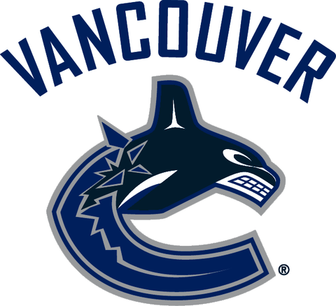 Vancouver Canucks jersey numbering pro stitched 1 layer