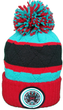Vancouver Grizzlies Mitchell & Ness High Five NBA Pom Toque