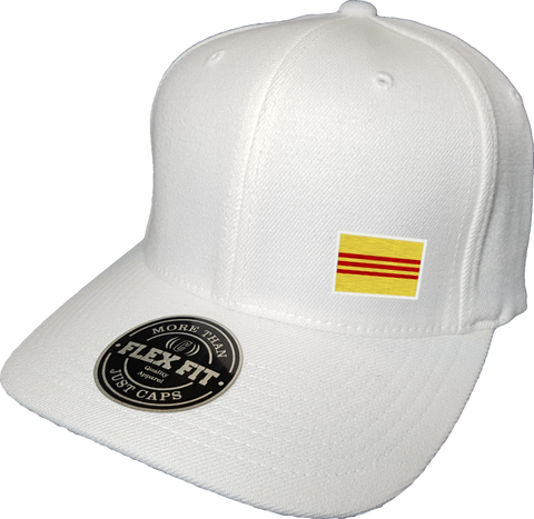 Viet Nam Cap Flex Fit FLS White