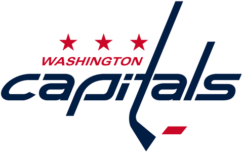 Washington Capitals Jersey Numbering Pro Stitched