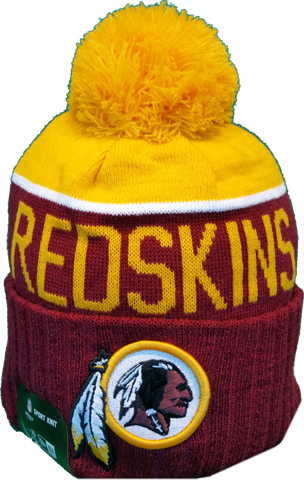 Washington Redskins Sideline Knit Pom Toque