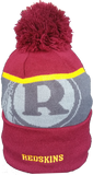 Washington Redskins Retro 50th Super Bowl Limited Edition Pom Toque
