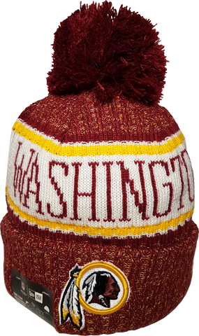 Washington Redskins NFL 18 Sideline Pom Toque
